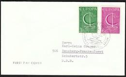 Belgium Oostende 1966 / Europa CEPT / FDC / Philatelic Exhibition - Europa-CEPT