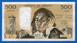500  Fr  Du  5/9/1974  G41 - 1962-1997 ''Francs''