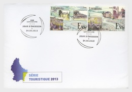 2013 Luxembourg - Mosel River In Luxembourg - Wine Yards Of Mosel FDC  MI 1981/1982 (oa) - Wein & Alkohol