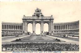 BRUXELLES - Arcade Monumentale Du Cinquantenaire - Monumenten, Gebouwen