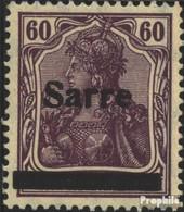 Sarre 14b I Neuf Avec Gomme Originale 1920 Allemagne - 1920-35 Saargebiet – Abstimmungsgebiet