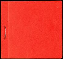 7055 Heftchendeckel Des Markenheftchens Ohne Marken (rückseitig Zwei Kleine Falzstellen)  (MH) - Denmark