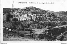 D12  AVEYRON -  DECAZEVILLE < Vue De LA DECOUVERTE, MONTAGNE DE CHARBON - Decazeville