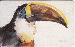 VENEZUELA(chip) - Bird, Toucan, 09/96, Used - Sin Clasificación