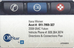 OnStar Membership Card - Other