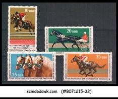 GERMANY - 1974 INTERNATIONAL CONGRESS FOR HORSE BREEDING - 4V - MNH - Other