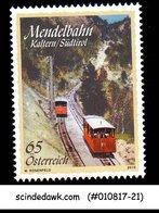 AUSTRIA - 2010 MENDEL RAILWAY / TRAINS - 1V - MINT NH - Trains