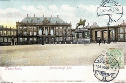 Colorisée Card + Brilliant - DANMARK -  AMALIENBERG SLOT - Danemark