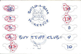 Build-A-Bear Workshop Paper Buy Stuff Club Card - Other