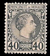 10631 40 C. Blau A. Rosa, Tadellos Ungebr., Katalog: 7 * - Monaco
