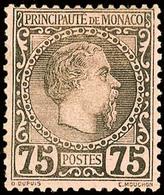 10632 75 C. Schwarz A. Rosa, Tadellos Ungebr., Katalog: 8 * - Monaco