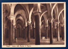 Libye. Tripoli. Interno Della Moschea Di Tagiura. Cachet A.V.2 Tripolitania Airport Idris. Décembre 1952 - Libya