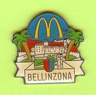 Pin's Mac Do McDonald's Bellinzona - 9O18 - McDonald's