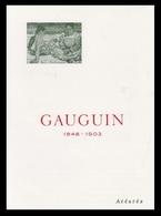 Timbre France Encart Fdc Sur Soie Tableau De Gauguin  N° 1568 - FDC