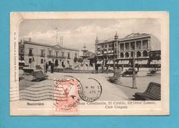 Uruguay Montevideo Plaza Constitucion , El Cabildo , Grand Hotel (lanata) Club Uruguay - Uruguay