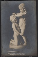 8032 Russian Empire Sculptor Chizhov The Game Of Hide And Seek - Sculture