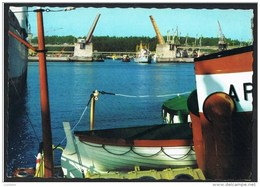 MATOSINHOS - DOCA DE LEIXOES E PONTE MOVEL Draw Bridge - Lifeboat -  Canot De Sauvetage - PORTUGAL - Porto