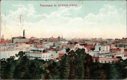 ! Vintage Postcard Buenos Aires, 1911, Argentinia - Argentine
