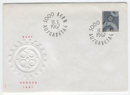 SWITZERLAND 1967 Europa First Day Cover Mi. Nr. 850 - Europa-CEPT