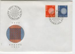 SWITZERLAND 1970 Europa First Day Cover Mi. Nr. 923-924 - Europa-CEPT