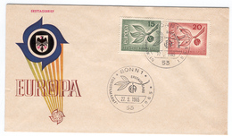 GERMANY 1965 Europa First Day Cover Mi. Nr. 483-484 - Europa-CEPT