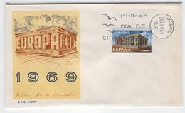 SPAIN 1969 Europa First Day Cover Mi. Nr. 1808 - Europa-CEPT