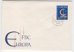 LIECHTENSTEIN 1966 Europa First Day Cover Mi. Nr. 469 - Europa-CEPT
