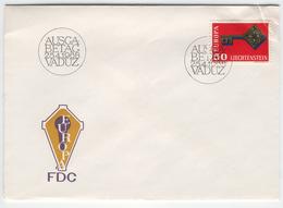 LIECHTENSTEIN 1968 Europa First Day Cover Mi. Nr. 495 - Europa-CEPT