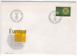 LIECHTENSTEIN 1970 Europa First Day Cover Mi. Nr. 525 - Europa-CEPT