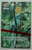 Guatemala - Chip - Ladatel - Telgua - Extincion - 50 Units - Mint Blister - Guatemala
