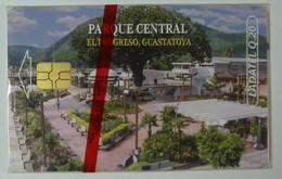Guatemala - Chip - Ladatel - Parque Central - 20 Units - Mint Blister - Guatemala
