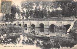 EURE ET LOIR  28   DANGEAU  PONT SUR L'OZANNE - BARQUE - France
