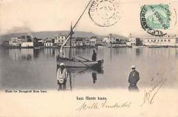 EGYPTE   SUEZ   MAREE HAUTE - Suez