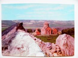 Post Card Carte Postal Stationery Ussr Armenia 1976 Old Architecture Church - Armenia