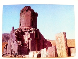 Post Card Carte Postal Stationery Ussr Armenia 1976 Old Architecture Monastery - Armenia