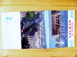 Folder Of Post Cards Ussr Armenia 1976 Yerevan - Armenia
