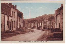 08. LES HAUTES RIVIERES . VALLEE DE LA SEMOY . RUE DE L'HOTEL DE VILLE  N: 16. Editeur BUENO - France