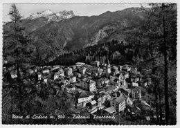 DOLOMITI    PIEVE  DI  CADORE (BL)    PANORAMA          (VIAGGIATA) - Italia