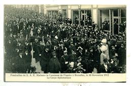 Funérailles De La Comtesse De Flandre (Marie) En 1912 - Funérailles