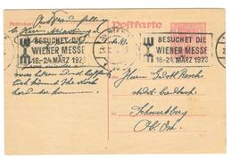 3802 - WIENER MESSE 23 - 1918-1945 1. Republik