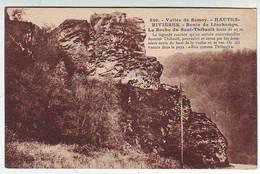 08. LES HAUTES RIVIERES . VALLEE DE LA SEMOY . Route De LINCHAMPS La Roche Saut Thibault . Editeur Floquet - France