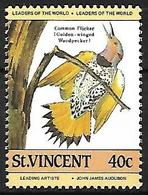 St Vincent - 1995  -MNH - Northern Flicker (Colaptes Auratus) - Spechten En Klimvogels