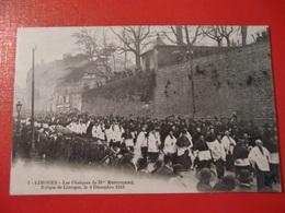 CPA LIMOGES LES OBSEQUES DE MGR RENOUARD 4 DECEMBRE 1913 - Limoges