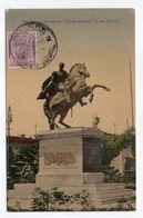 """Pérou -- 1911--LIMA --Estatuo Al Liberador """"Simon Bolivar"""" - Pérou"""