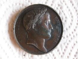 Medaille En En Etain Napoléon I , Prise De Vienne Et De Presbourg 1805 Par ANDRIEU Et GALLE - France