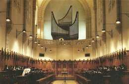 Abbaye Sainte Scholastique DOURGNE  L'orgue Réalisatin J.P. Swiderski RV - Dourgne