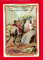 St Germain En Laye, Maison Palatre Cafés, 10 Rue De Pologne, Chromo L'âne De Guerville - Autres