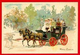 Chicorée Paul Mairesse, Chromo Lith. Parisienne, Moyens De Transport, Mail Coach - Autres