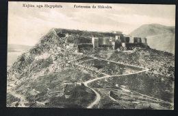 REPUBLIKA E SHQIPERALBANIE - ALBANIE  - KUJTIM NGA SHQYPENIA- Forteresse De SHKODRA   CPA  Voyagée 1913- - Albanie