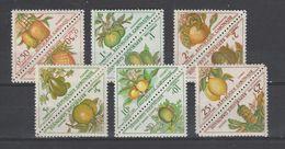 Gabon  1962   Taxe  N ° 34 à 45  Neuf X X Série Compléte - Gabon